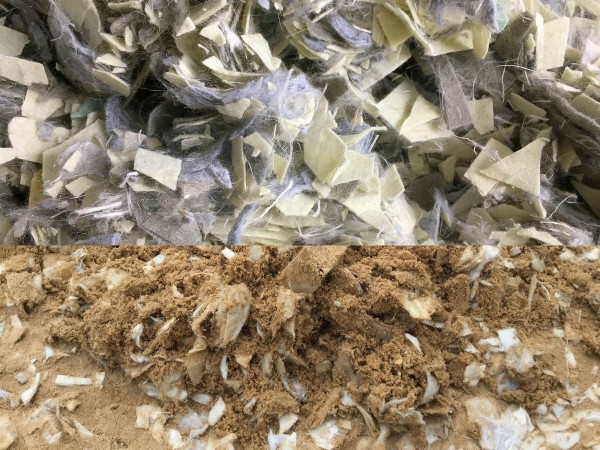 Jumping Vlieshäcksel grün-grau mit 30 % Fasern (Made in Germany)
