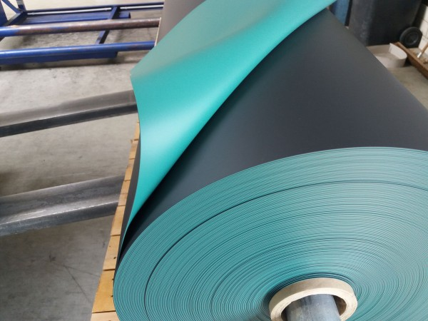 1,5 mm Teichfolie elastplan patinagrün
