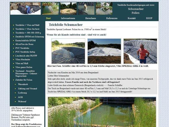 Teichfolie-Schumacher-de