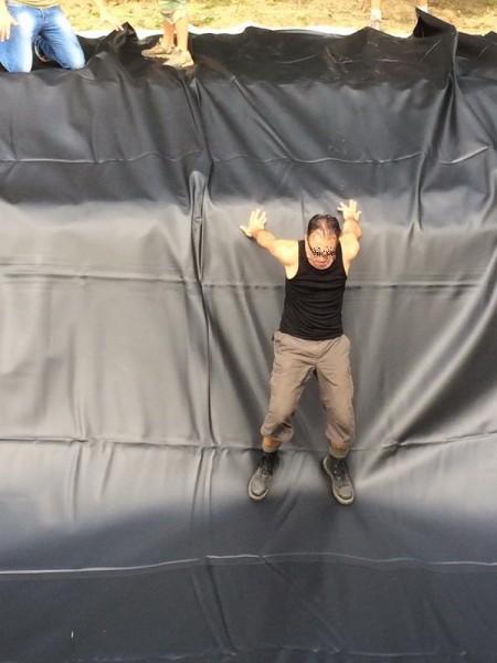 1,5 mm Teichfolie elastplan schwarz