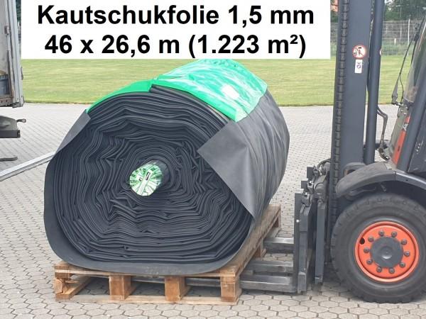 Kautschukfolie 1,5 mm [Breite 26,60 m] ProfiFlex EPDM